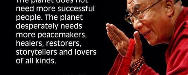Dalai-Lama zegt…